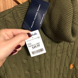 NWT Ralph Lauren Long Turtleneck Sweater